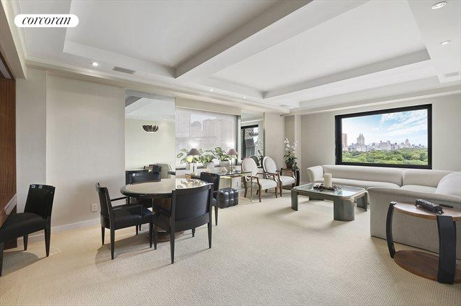 160 Central Park South, 1607/1608, Living Room