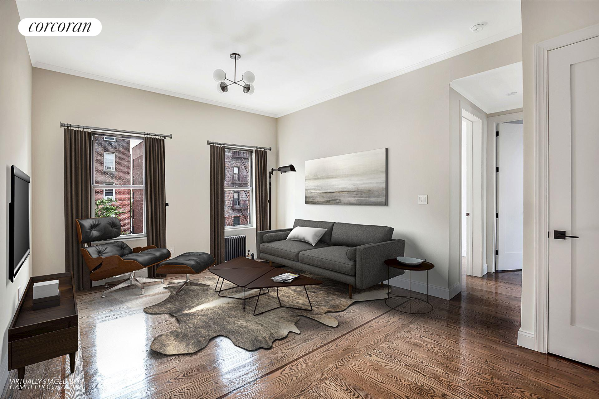 17 East 17th Street, A5, Living Room