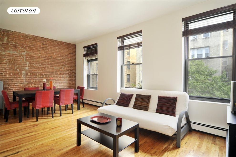 New York City Real Estate | View 202 West 92nd Street, #4F | Living Room / Dining Room