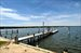 Sag Harbor, Substantial dock facing west/southwest