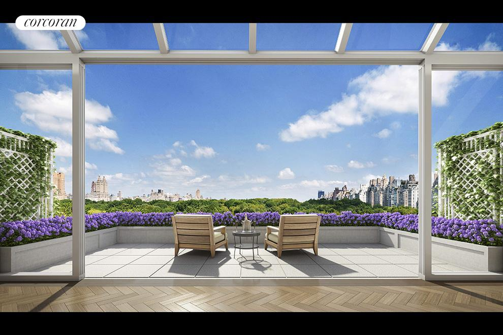 22 Central Park South, PH, Outdoor Space