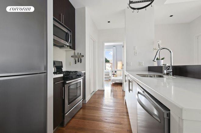 111 Monroe Street, 3D, Kitchen and Second Bedroom