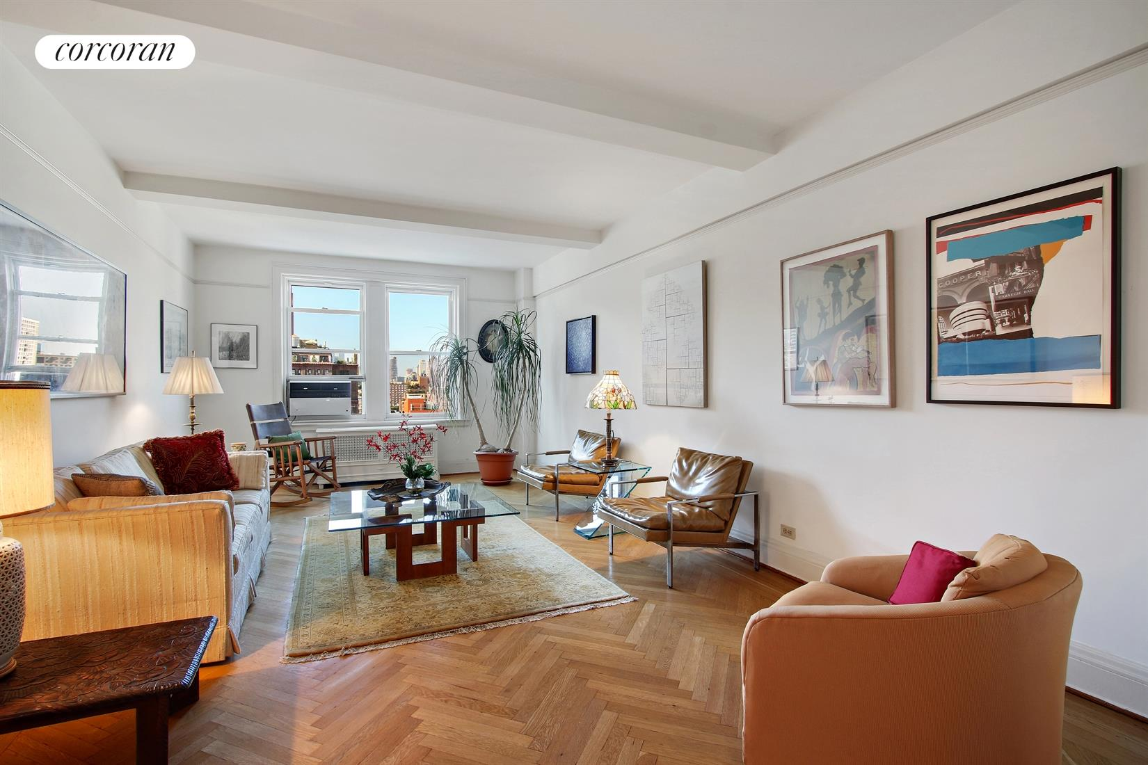 12 West 96th Street, 16C, View from Living Room