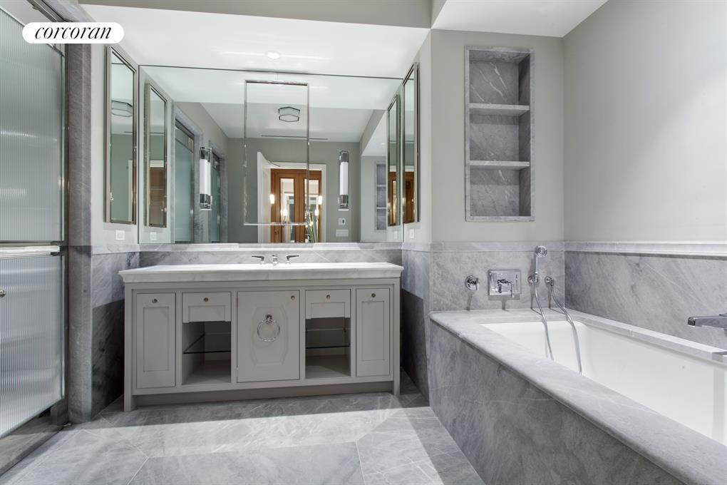 Master Bath designed by Studio Sofield