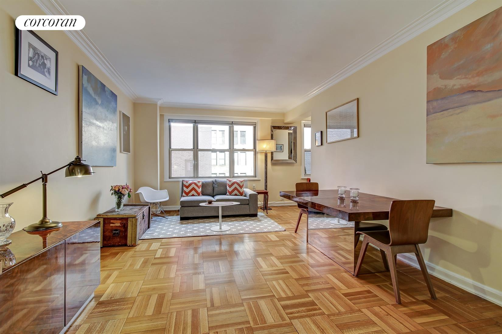 220 Madison Avenue, 8C, Spacious Living and Dining Room!
