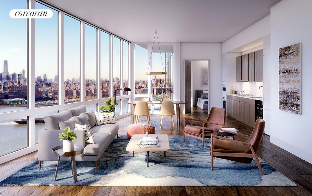 Condominium for Sale at The Greenpoint, 21 India Street 38-C 21 India Street Brooklyn, New York 11222 United States