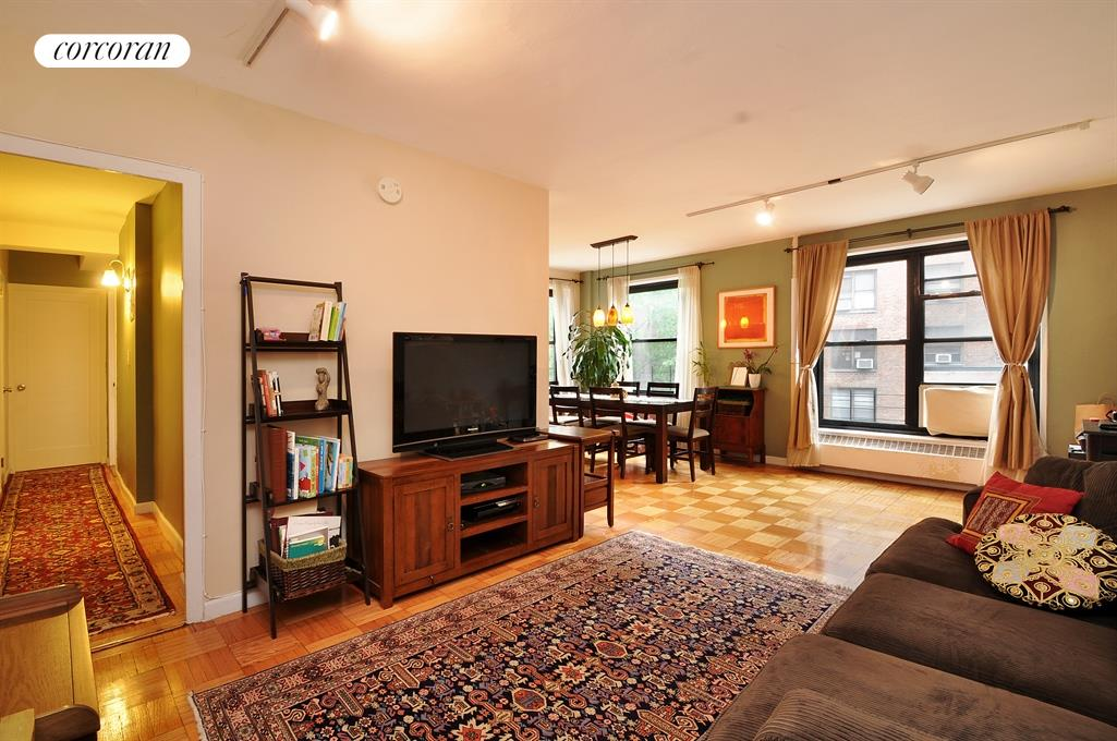 201 Clinton Avenue, 8C, Living Room