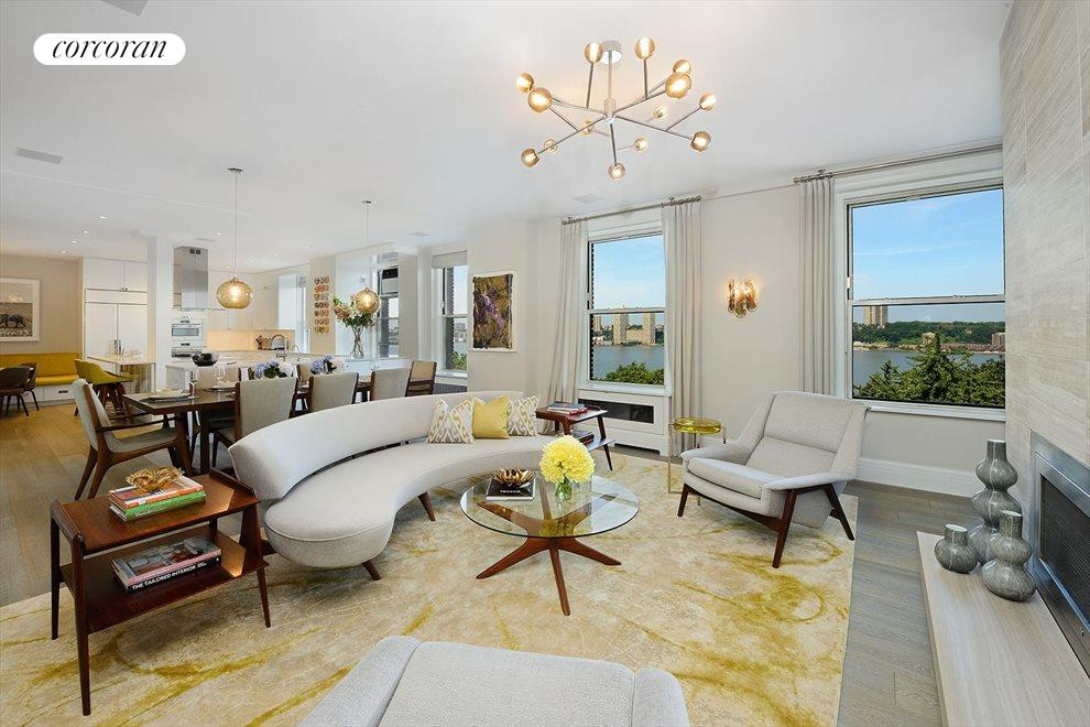 New York City Real Estate | View 137 Riverside Drive, #6BC | 4 Beds, 3 Baths