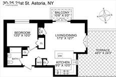 30-25 21st Street, Apt. PH-A, Long Island City