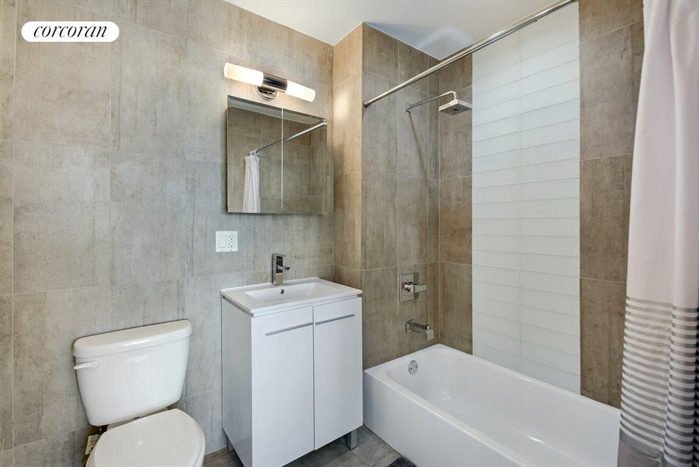 Spacious spa bathrooms