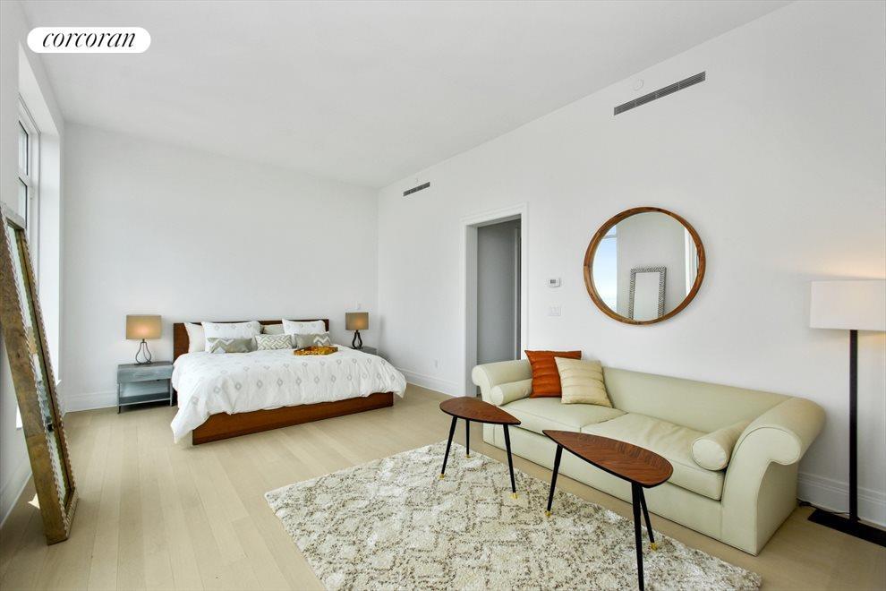Corner master suite