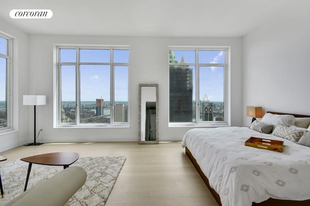 Corner spacious master bed room suite