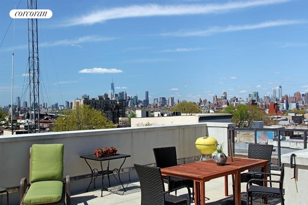 Fabulous shared roof with 360 views