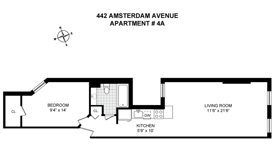 Corcoran 442 AMSTERDAM AVE Apt 4A Upper West Side Real Estate