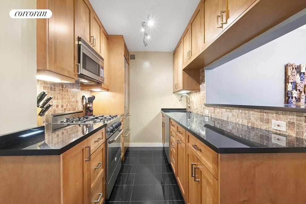 Renovated kitchen with top of the line appliances