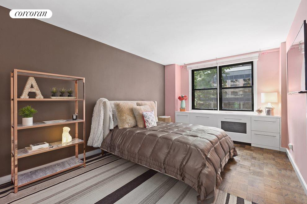 Generously proportioned second bedroom