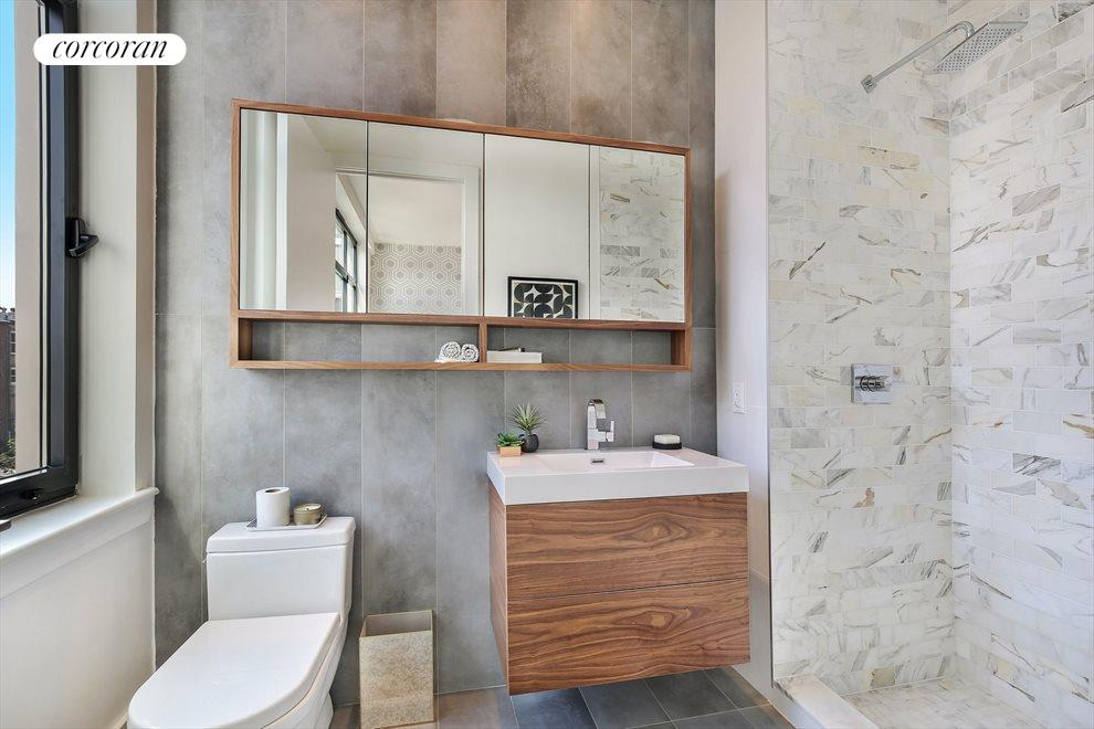 New York City Real Estate | View 226 Clifton Place, #2E | Master Bath