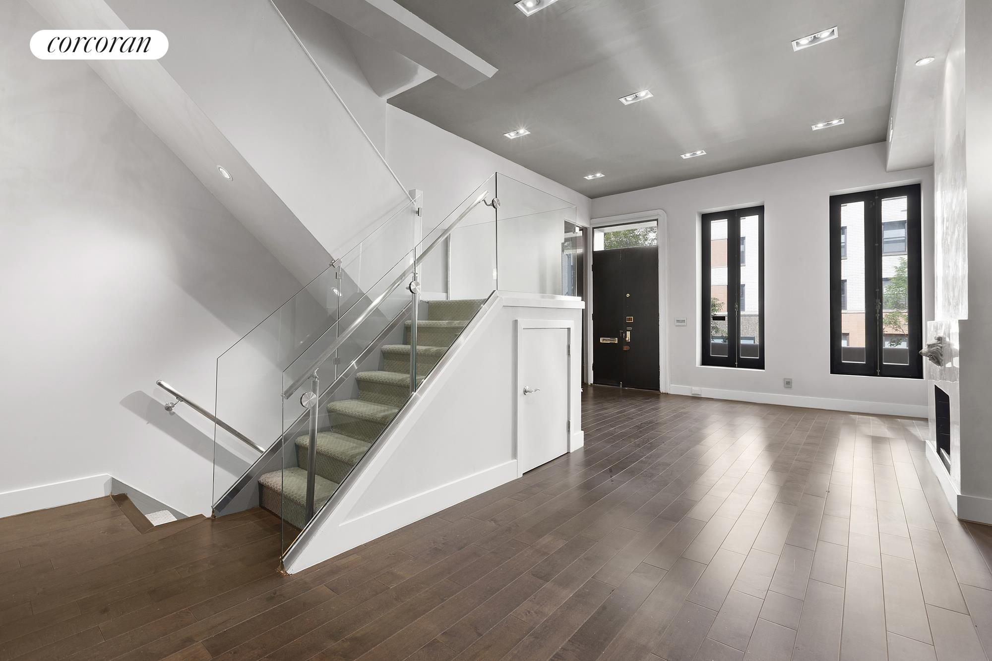 310 East 69th Street, Oversize Open Kitchen With Wall Of Windows.