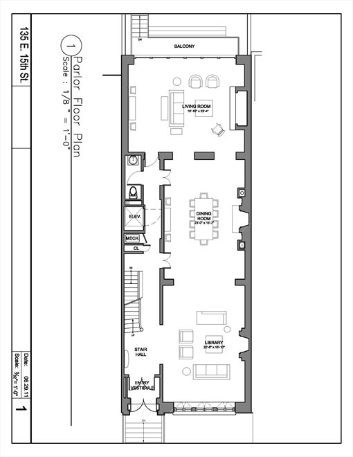 New York City Real Estate | View 135 East 15th Street | Floorplan 2