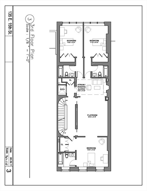 New York City Real Estate | View 135 East 15th Street | Floorplan 4
