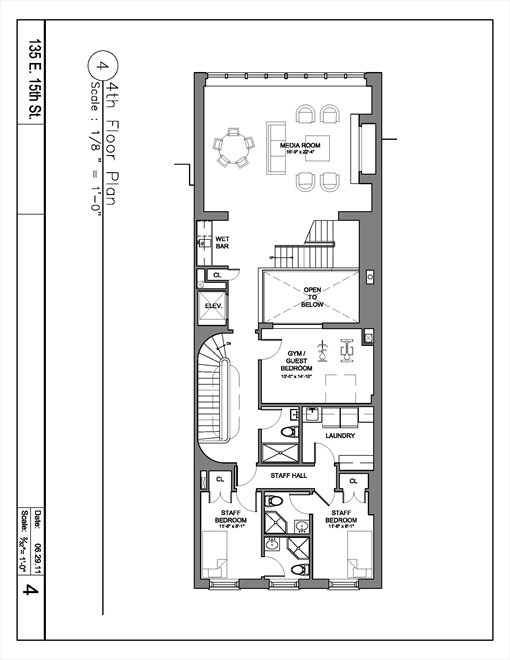 New York City Real Estate | View 135 East 15th Street | Floorplan 5