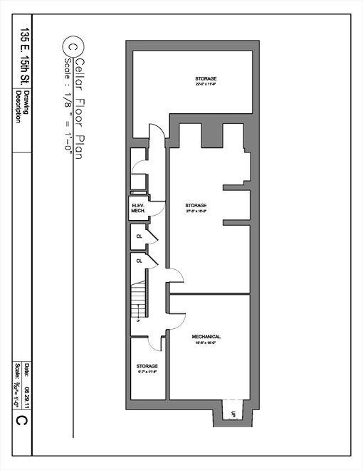New York City Real Estate | View 135 East 15th Street | Floorplan 6