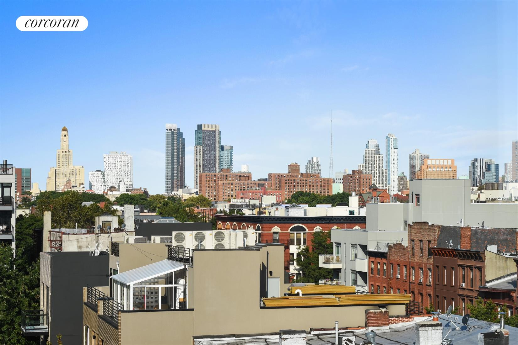 315 Gates Avenue, 6S, Brooklyn and Manhattan skyline views