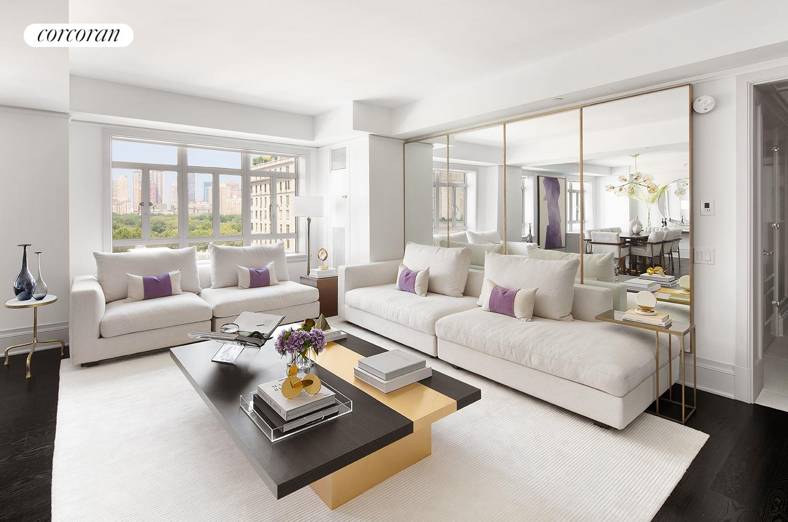 21 East 61st Street, 12E, Living Room