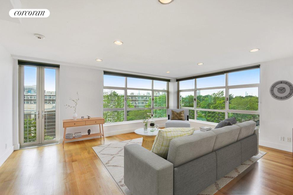 New York City Real Estate | View 460 Manhattan Avenue, #4A | 2 Beds, 2 Baths