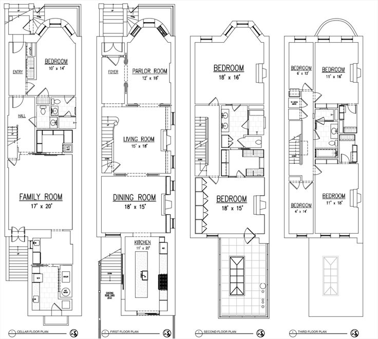 New York City Real Estate | View 586 4th Street | Floorplan