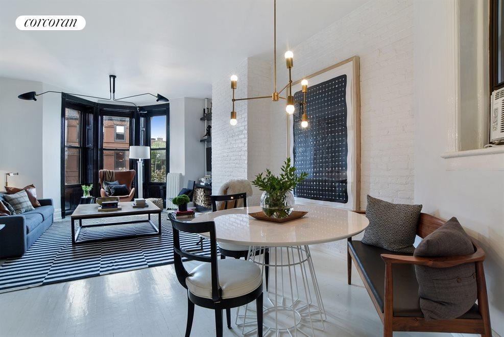 Spacious proportions & custom fixtures throughout