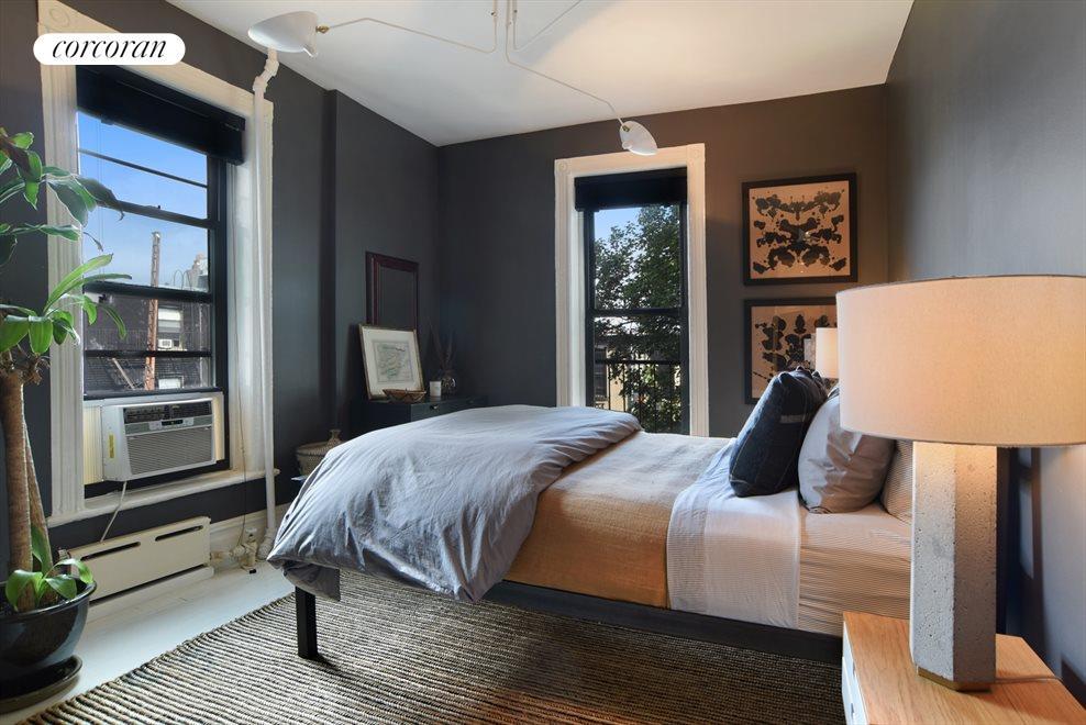 Master Bedroom w/double exposures & tree top views