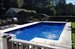 133 Cedar Street, Heated pool with ample decking