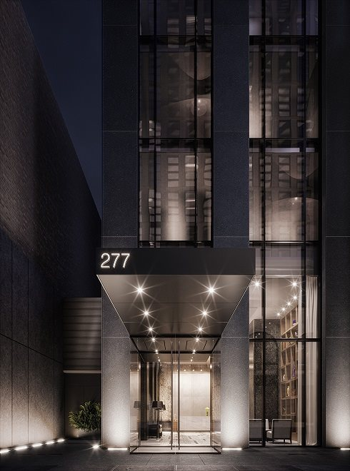 277 Fifth Avenue | Building Approach.