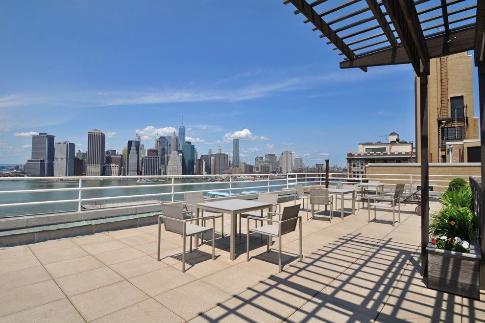 Common Roof Deck - breathtaking panoramic views.