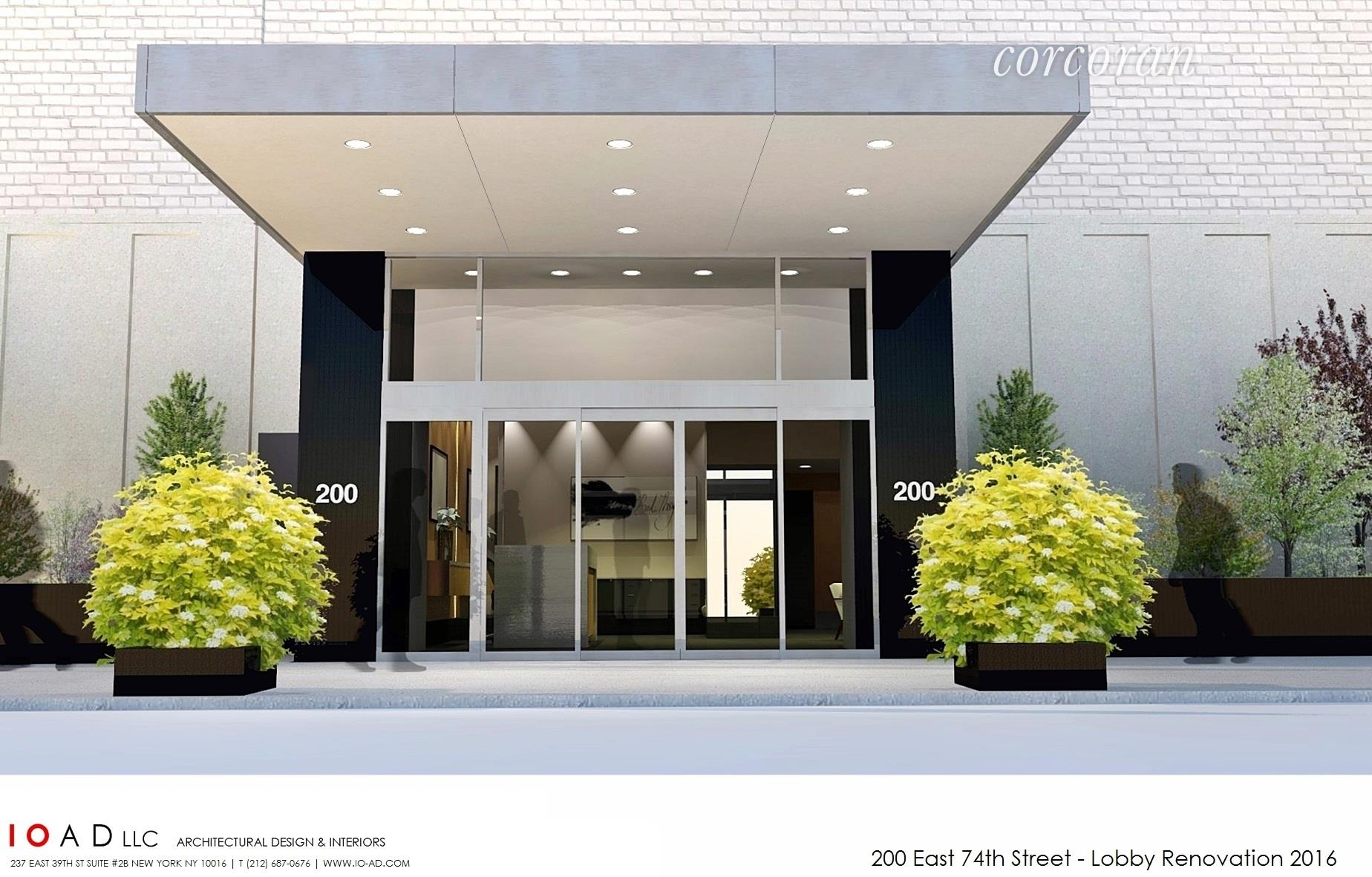 200 East 74th Street, 2d, Living Room