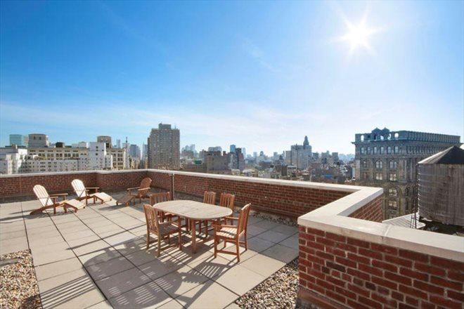 77 East 12th Street, 9D, Roof Deck  with Panoramic Views