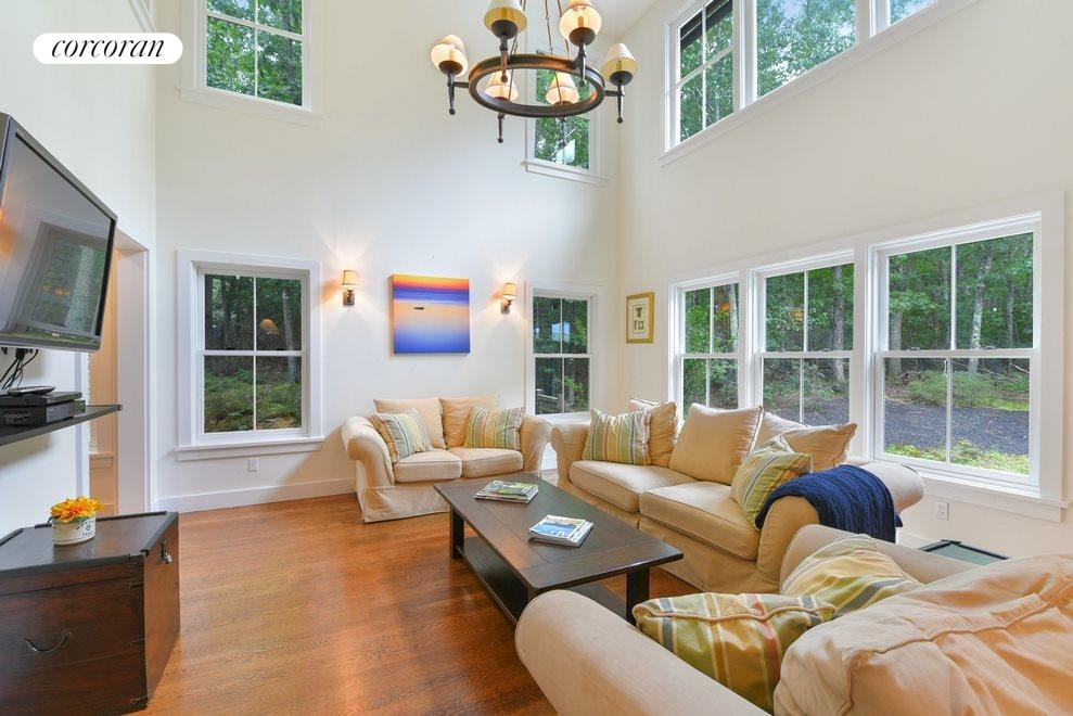 New York City Real Estate | View Sag Harbor | Living room