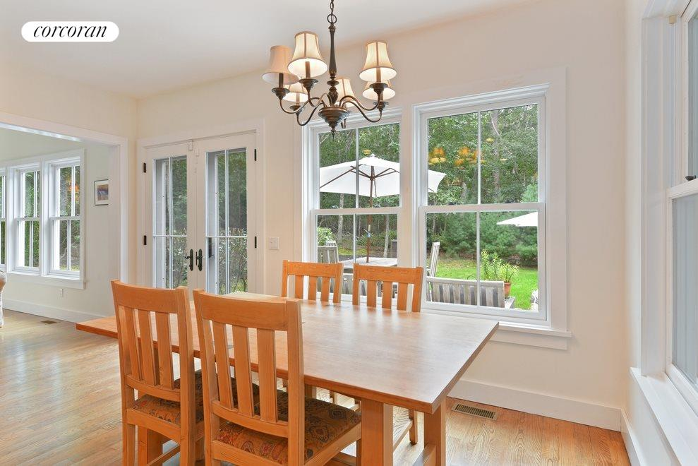 New York City Real Estate | View Sag Harbor | Dining area