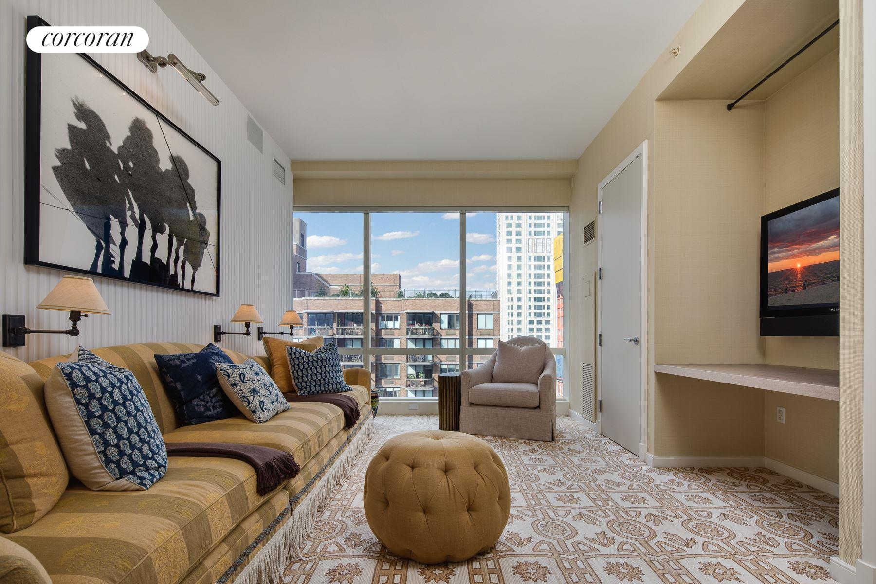 230 West 56th Street, 50-51F, Living Room