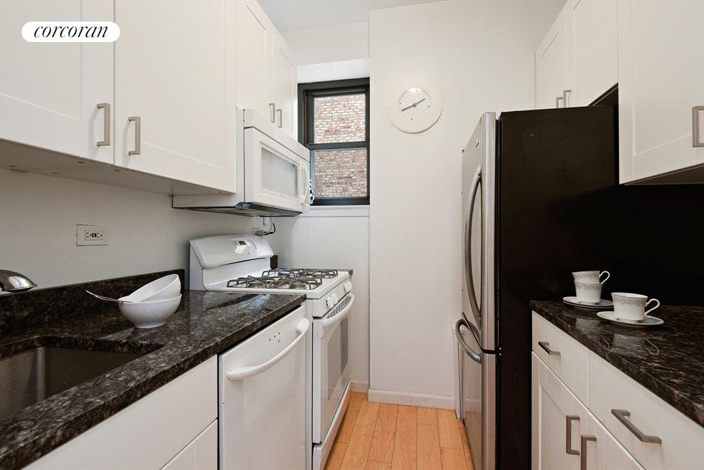 New York City Real Estate | View 257 Central Park West, #7G | Renovated Windowed Kitchen