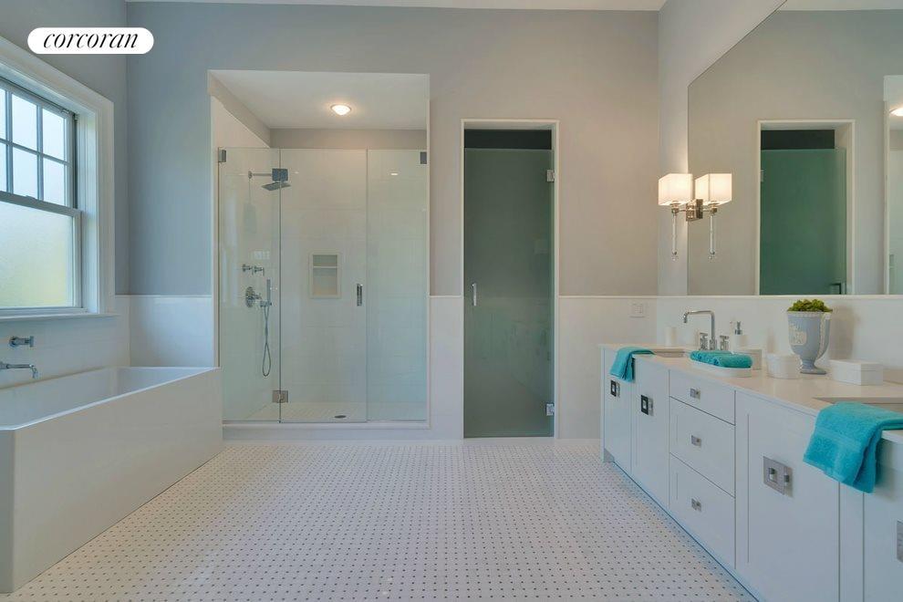 1st floor guest master bathroom