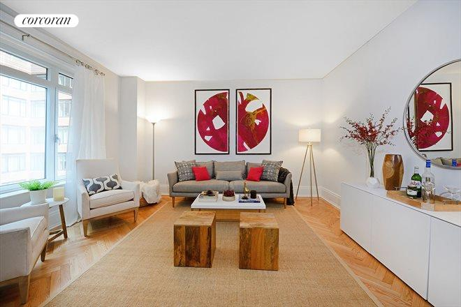 205 West 76th Street, 703, Living Room