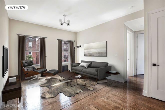 17 East 17th Street, D4, Living Room