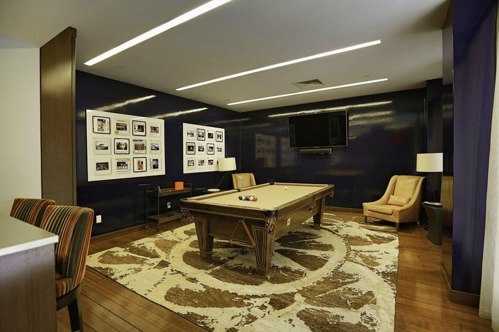 Building Billiards Room