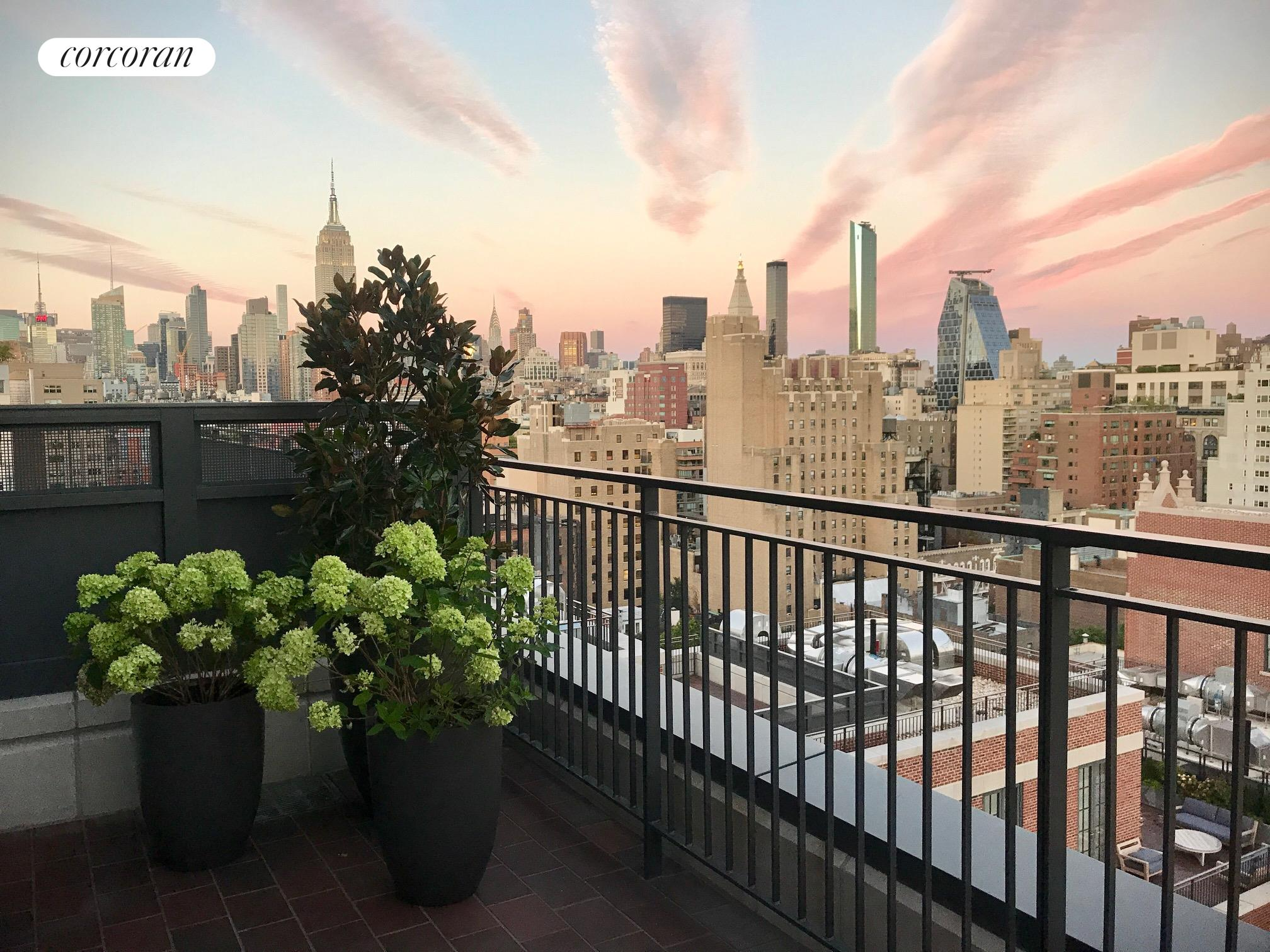 Condominium for Sale at The Greenwich Lane, 155 West 11th Street Ph-East 155 West 11th Street New York, New York 10011 United States