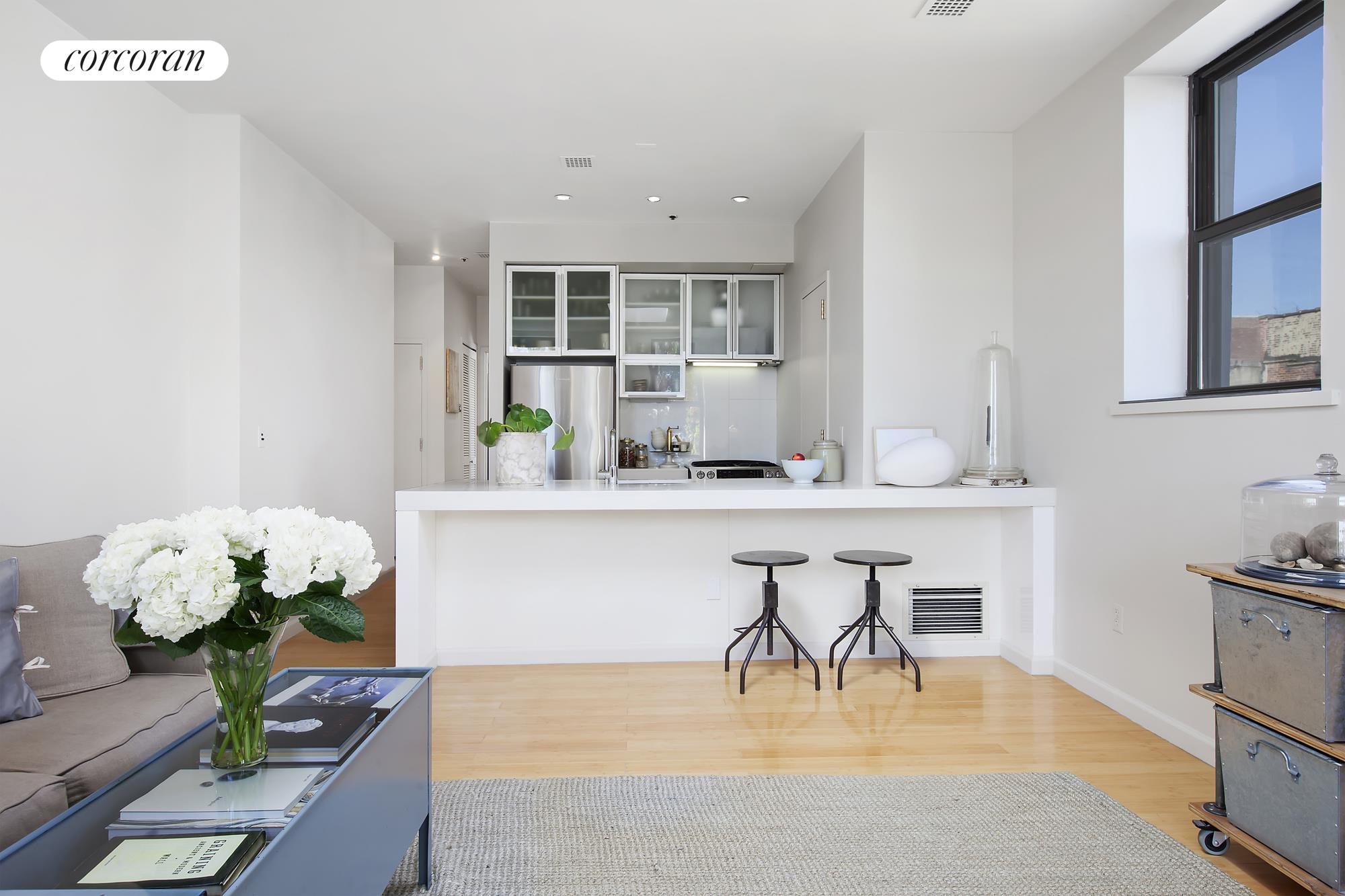 118 Greenpoint Avenue, 3A, Expansive Living/Dining Room w/ Skylight