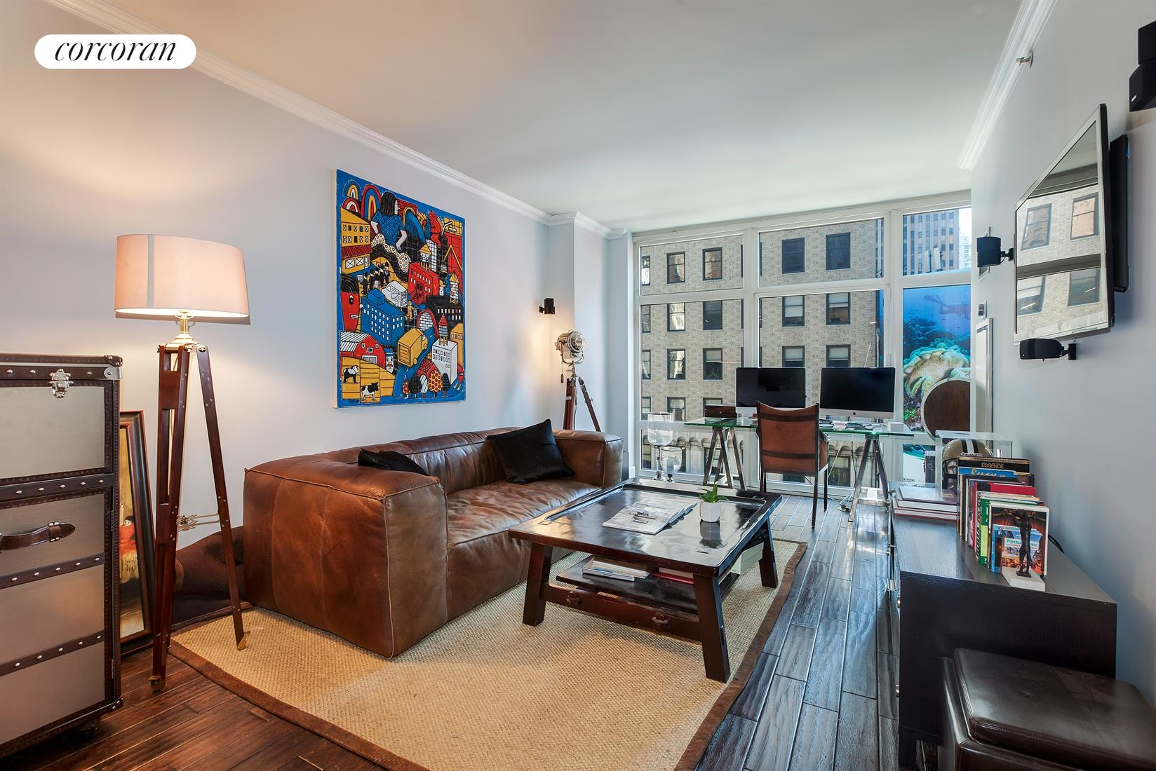 1600 Broadway, 5A, Living Room