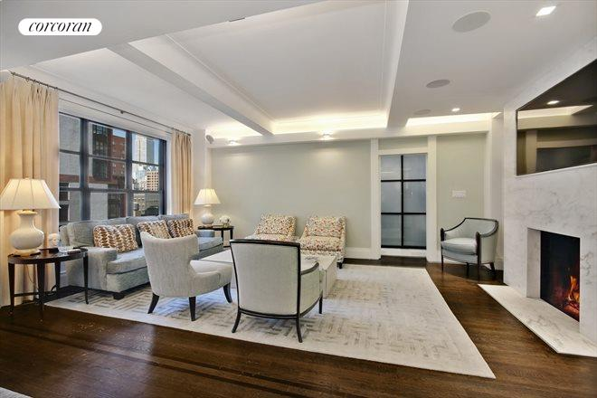 235 East 22nd Street, 15L, Cozy up to your wood-burning fireplace!