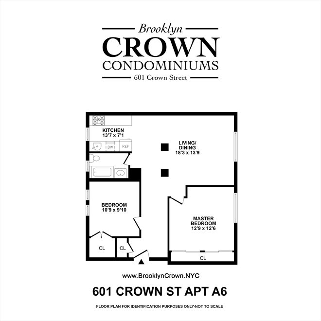 New York City Real Estate | View 601 Crown Street, #A6 | Floorplan